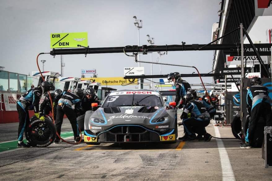 Aston Martin Vantage DTM in Misano ©R-Motorsport