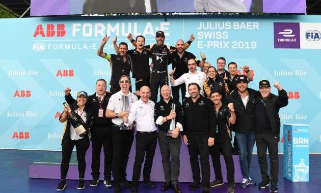 DS Techeetah Sieg in Bern ©DS Deutschland