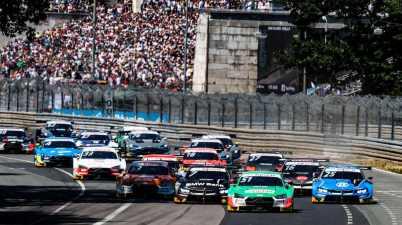 Nico Müller, (Audi Sport Team Abt Sportsline), DTM Norisring 2019 ©Audi
