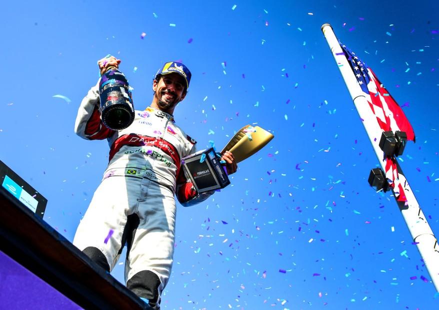 Lucas di Grassi,Formula E, New York E-Prix 2019 ©Audi
