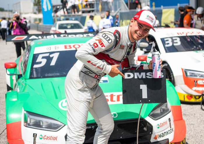 Nico Müller-Sieg DTM Misano 2019 ©Audi