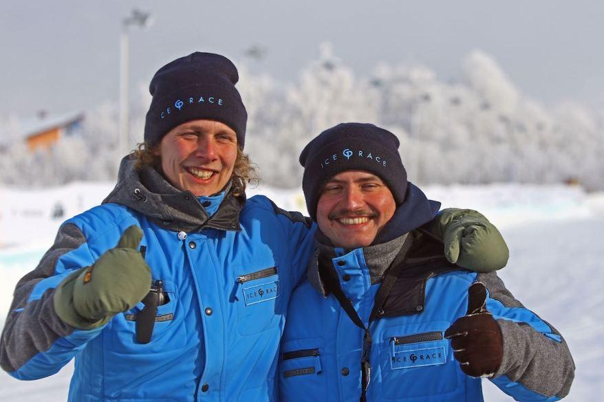 Ferdinand Porsche und Vinzenz Greger ©GP Ice Race