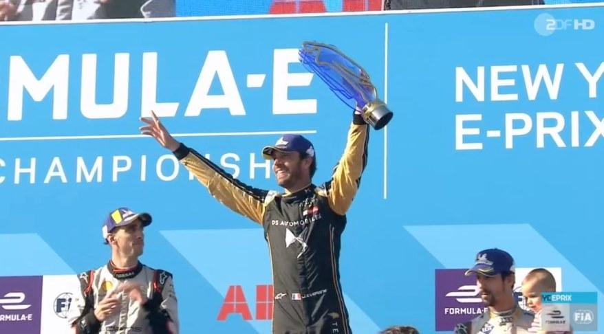Vergne Formel E Champion 2019 ©FormulaE ZDF