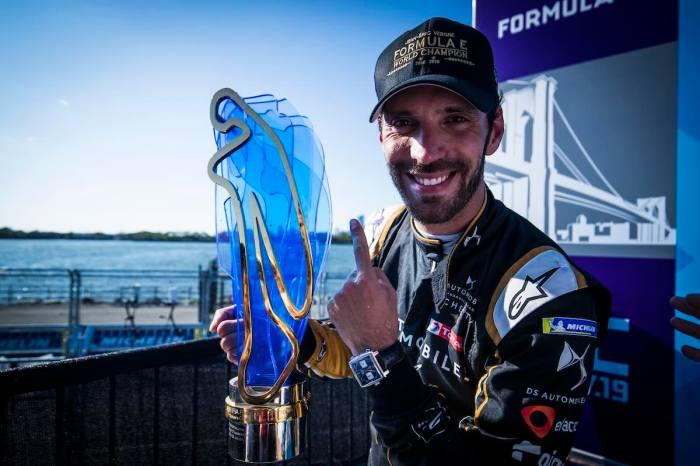 Vergne , neuer Formel-E-Champion ©DS Techeetah