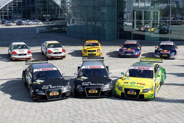 Audi Motorsport History ©Audi