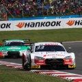 Rene Rast vor Nico Müller,Audi,DTM Brands Hatch 2019©Audi