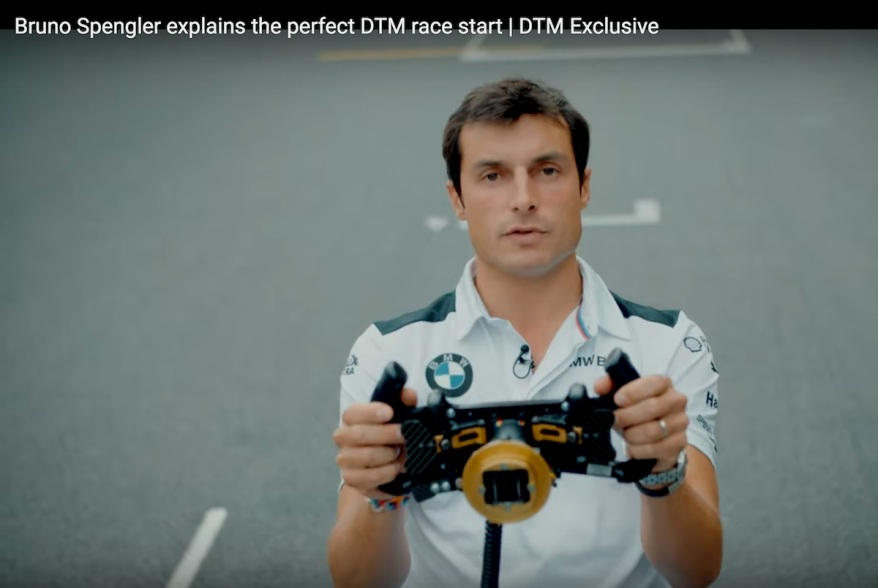 Bruno Spengler erklärt den Start in Brands Hatch ©DTM