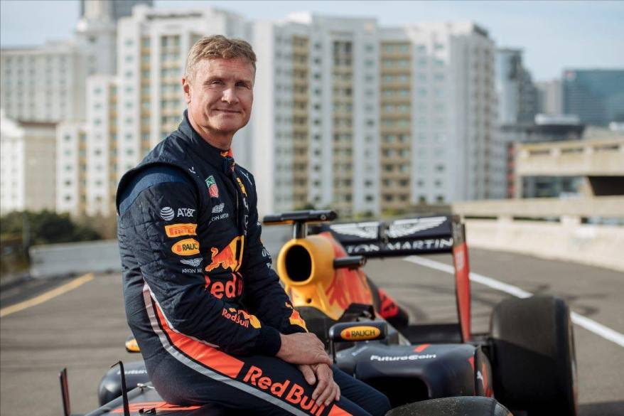 David Coulthard ©Red Bull Content