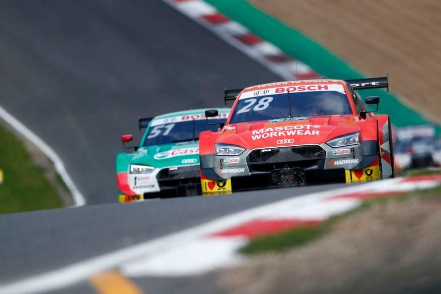 Duval vor Müller,DTM Brands Hatch 2019 ©DTM