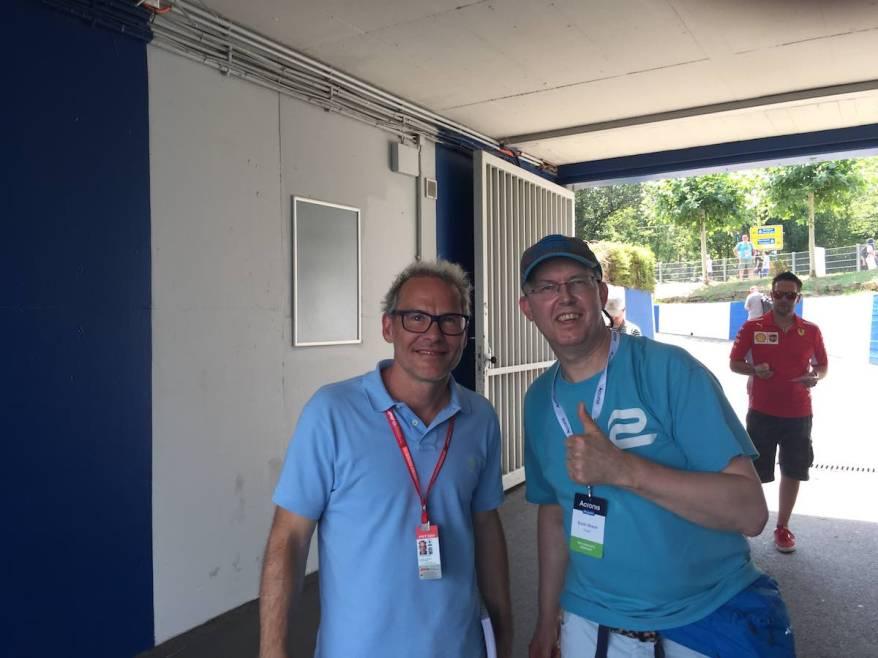 Jacques Villeneuve und ich©€ªirsch