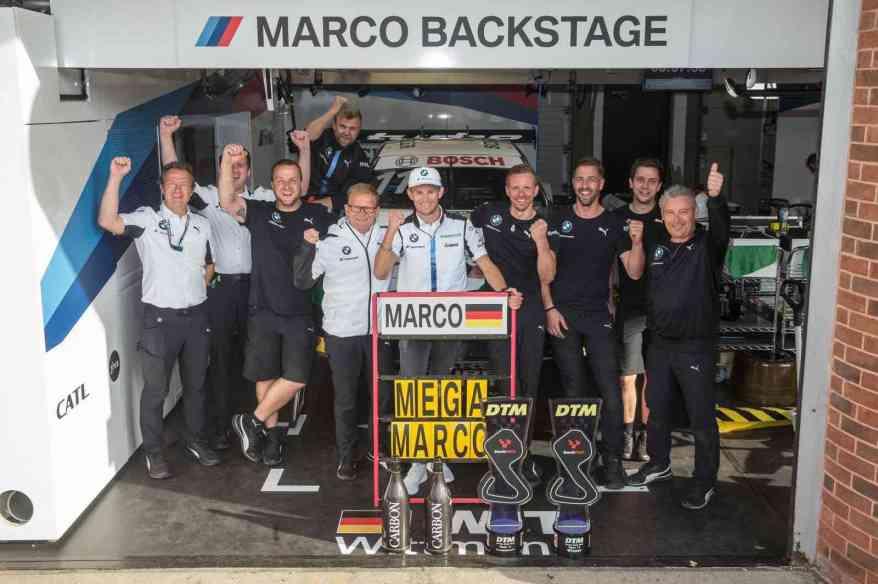 Marco Wittmann strahlender Sieger in Brands Hatch ©BMW