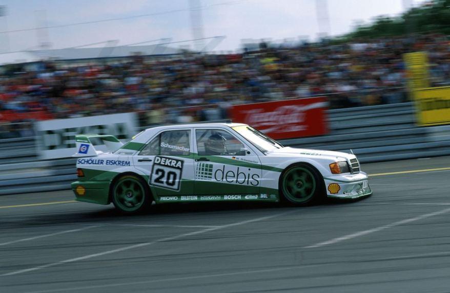 Michael Schumacher, ,DTM Norisring, Nuernberg, 30.06.1991 ©DTM