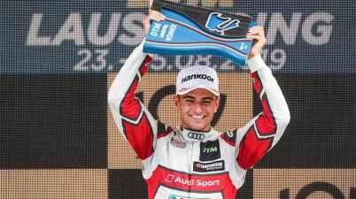 Nico Müller,DTM Lausitzring 2019 ©Audi