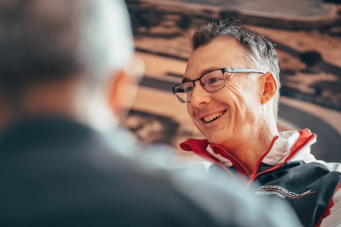 Amiel Lindesay,Porsche Teammanager ©Porsche