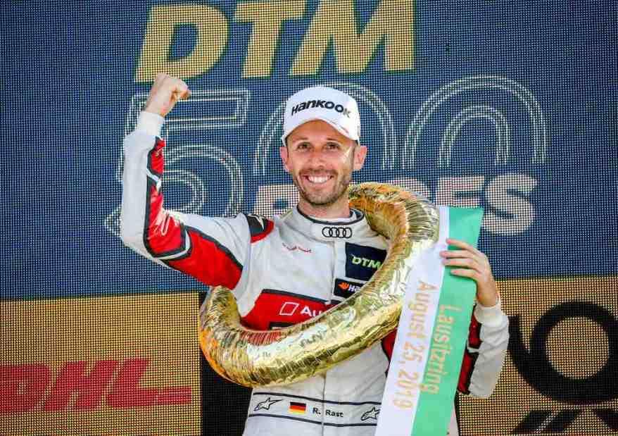 René Rast, Sieger DTM Lausitzring 2019 ©Audi