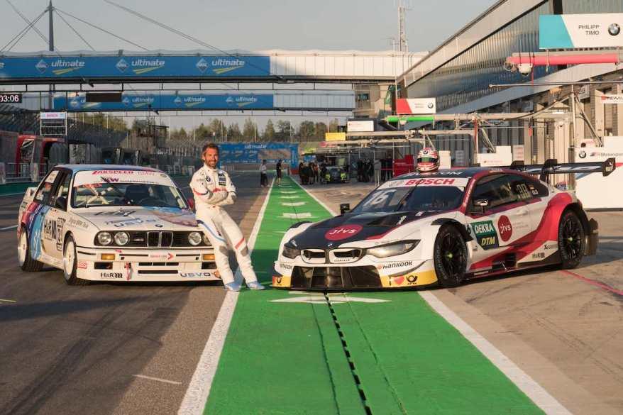Timo Glock am Lausitzring im Doppeleinsatz ©BMW