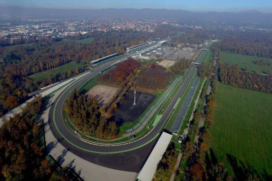 Monza von oben ©DTM