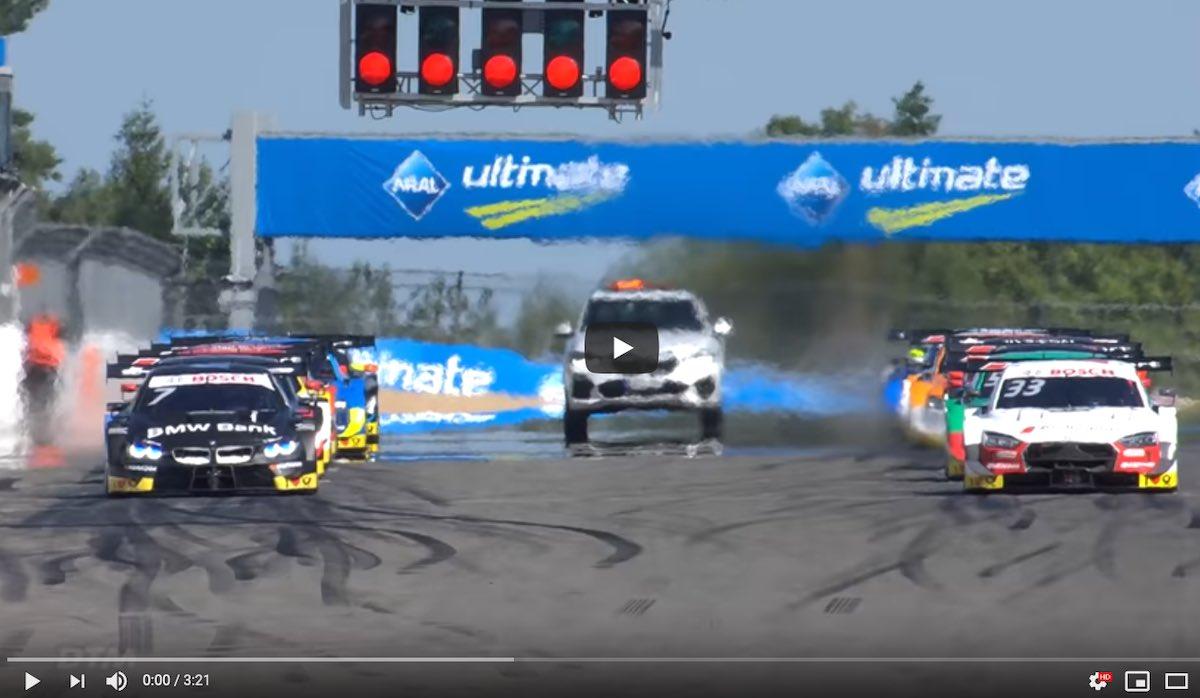 Nürburgring Rennen 1 ©DTM,Youtube