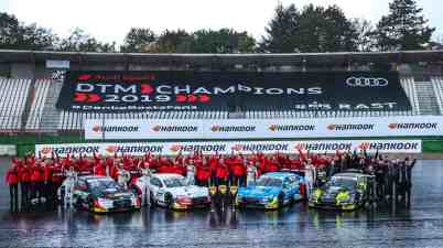 Audi Sport Team Phoenix, Audi Sport Team Rosberg, Audi Sport Team Abt Sportsline, WRT Team Audi Sport ©Audi