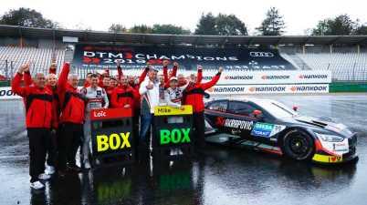 Audi Team Phoenix,DTM Hockenheimring©Hankook