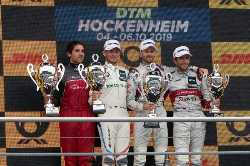 Das Siegerfoto vom Hockenheimring ©Hankook