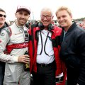 René Rast, Arno Zensen, Nico Rosberg ©Audi,MichaelKunkel