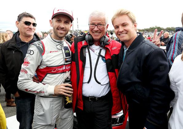 René Rast, Arno Zensen, Nico Rosberg ©Audi,Michael Kunkel