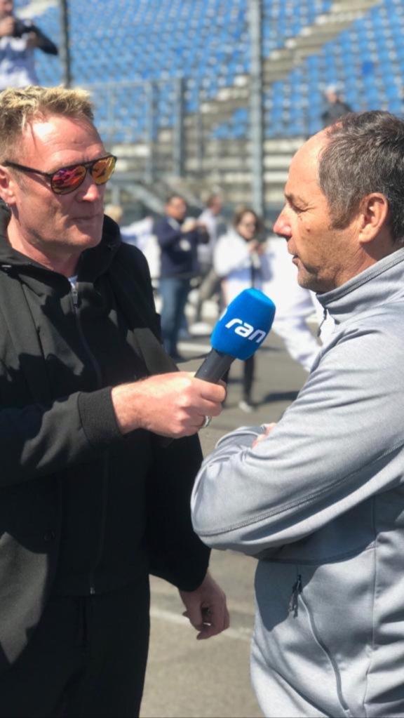 Kommentator Edgar Mielke im Interview ©Mielke