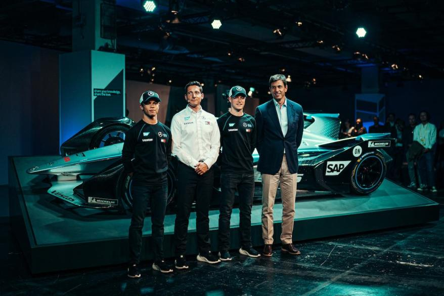 Mercedes-Benz EQ Formel E Team Launch©Mercedes, Sebastian Kawka