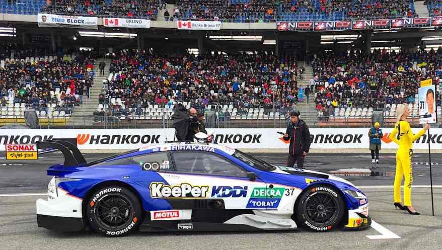 Nick Cassidy, Lexus,Super GT in Hockenheim ©EHirsch