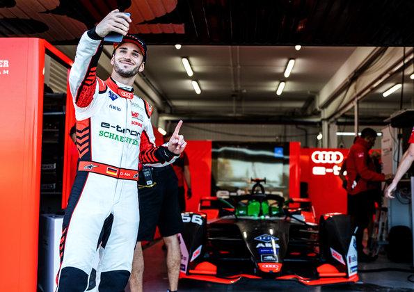 Daniel Abt,Formula E Test ©Audi