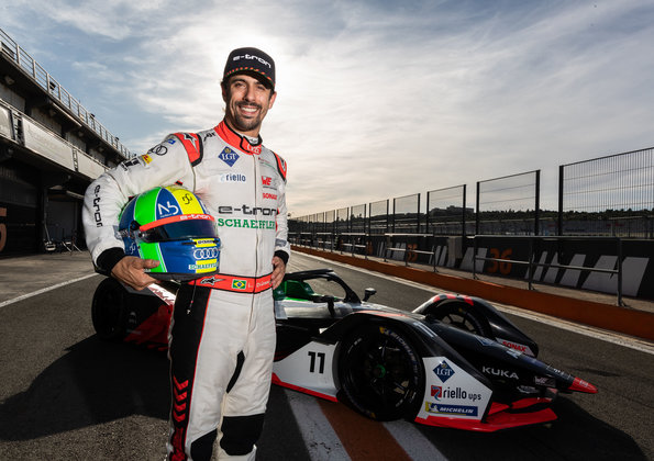 Lucas di Grassi,Formula E Test ©Audi