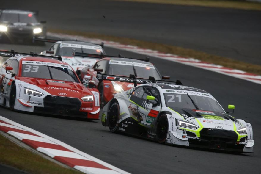 WRT Hitotsuyama Team Audi Sport, Audi RS 5 DTM, Benoit Treluyer, Audi Sport Team Rosberg, Rene Rast, SUPER GT x DTM Dream Race, Saturday, Race, Fuji Speedway © SUPER GT