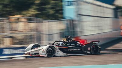 Andre Lotterer,Porsche,Diriyyah ©FIAFormulaE