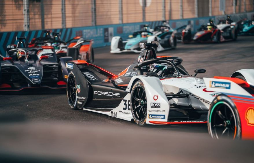 Porsche: Andre Lotterer in der Formel E ©Porsche