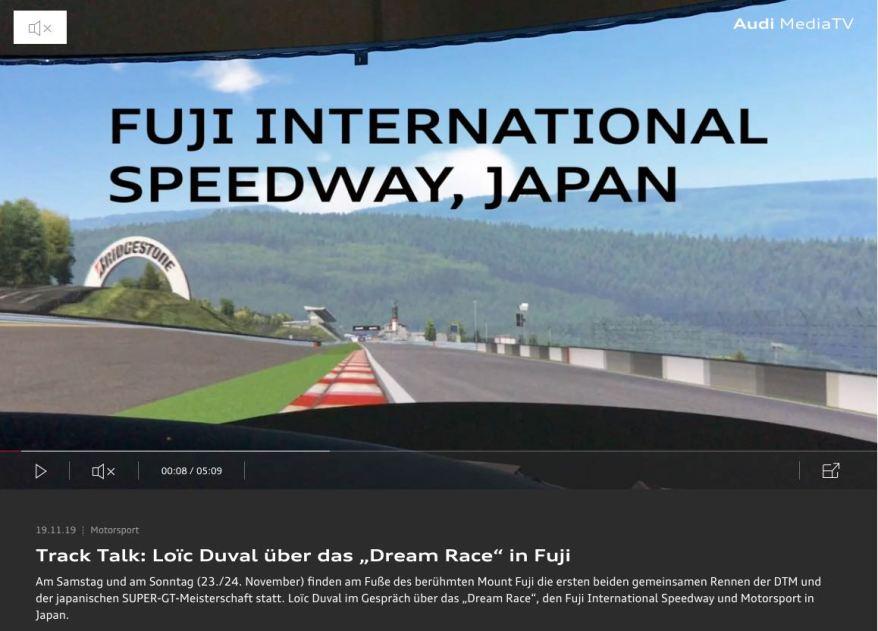 Audi-Video Fuji ©Audi