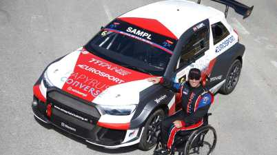 Reini Sampl,AUTO - Titans RX Europe Series France 2019 ©GP ICE Race,Paulo Maria / MJP / INTERSLIDE