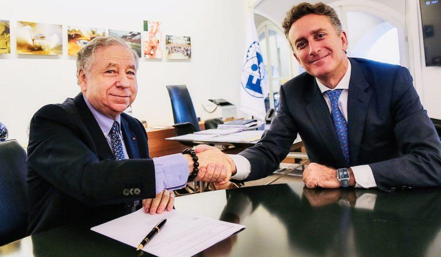 Jean Todt und Alejandro Agag ©courtesy by Formula E
