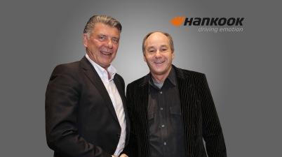 Manfred Sandbichler und Gerhard Berger ©Hankook