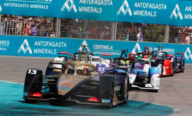 Antonio Felix da Costa,2020 Santiago E-prix © DS TecheetahPhoto by Alastair Staley / LAT Images