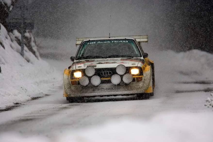 Audi S1 Quattro am Col De Turini ©GP Ice Race