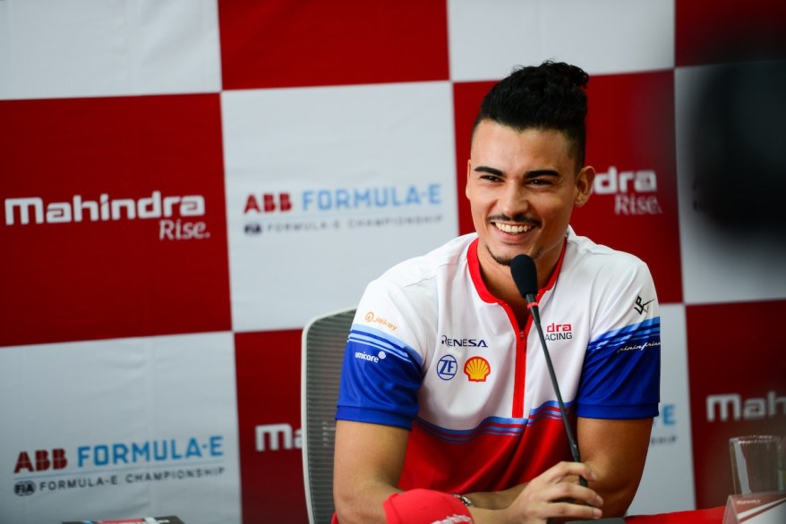 Pascal Wehrlein in Chile ©Mahindra, Lou Johnson