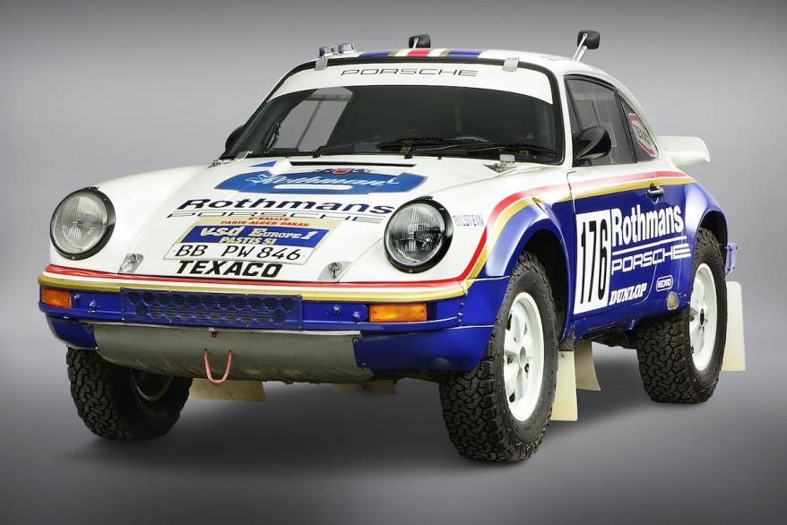 Porsche 911 Carrera ©GP Ice Race