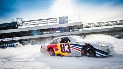 Red Bull Nascar ©GP Ice race, Red Bull