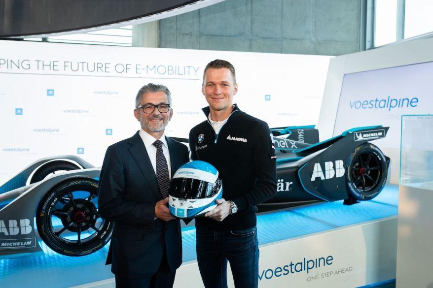 voestalpine CEO Eibensteiner und Max Günther ©voestalpine