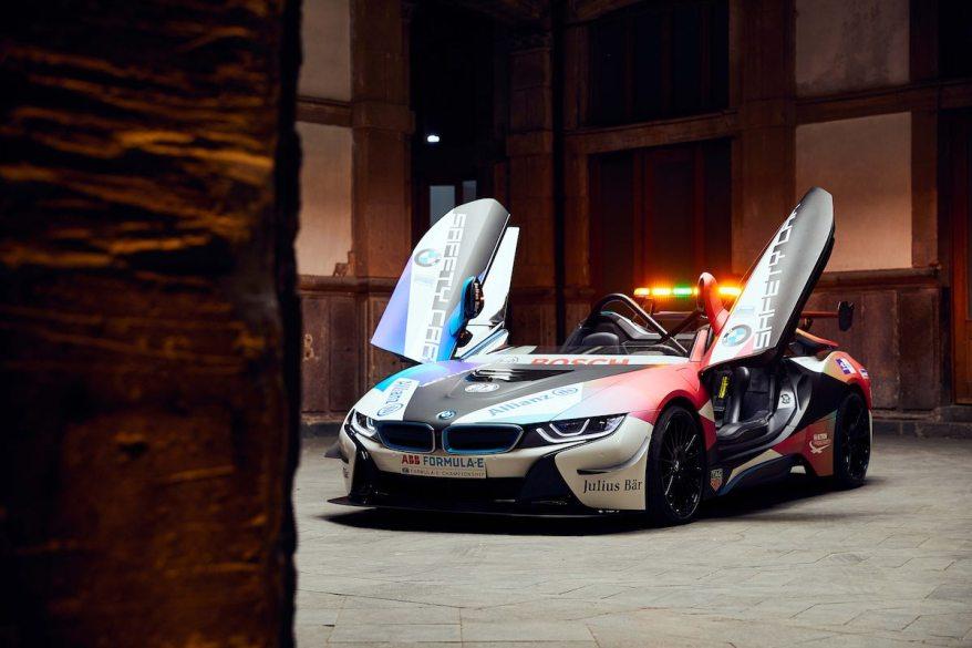 BMW i8 Safety Car ©BMW