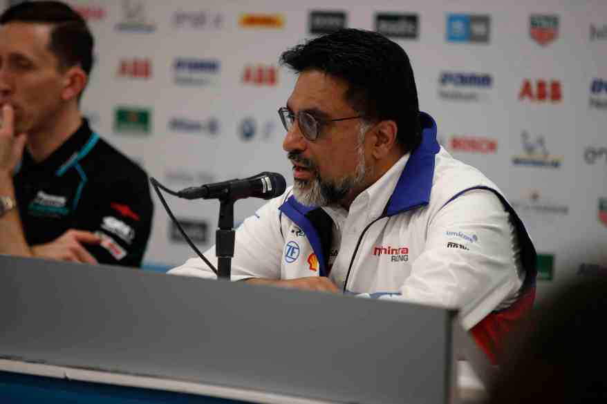 Dilbagh Gill, CEO and Team Principal, Mahindra Racing ©courtesy by FormulaE