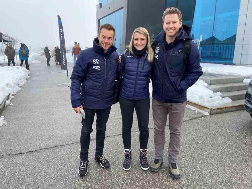 Benjamin Leuchter,Jasmin Preisig, Tanner Foust VW ©EHirsch