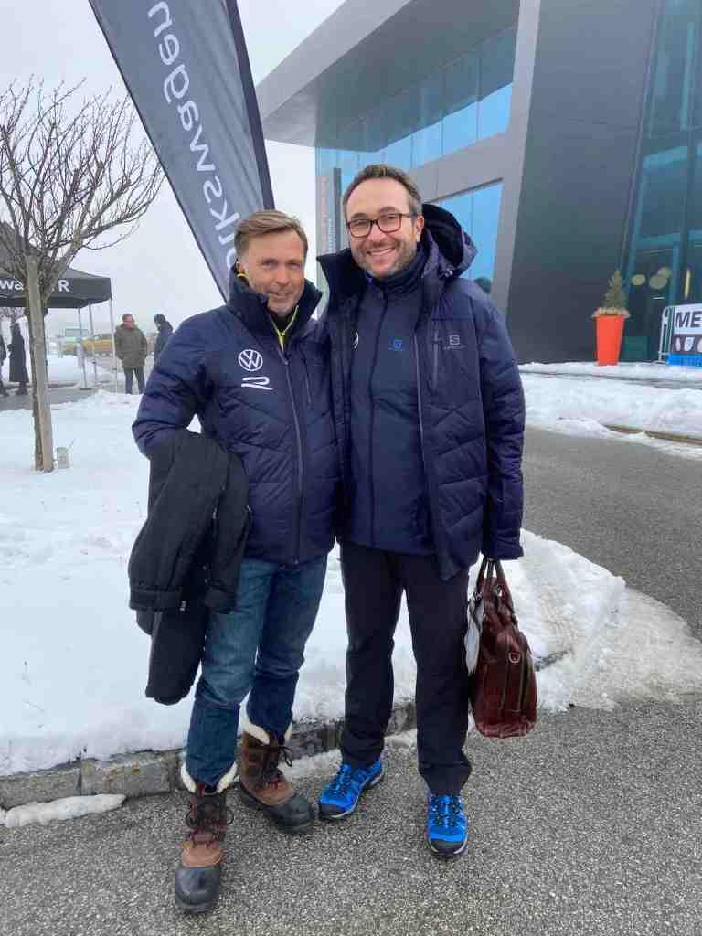 Jost Capito und Sven Smeets, Volkswagen ©EHirsch