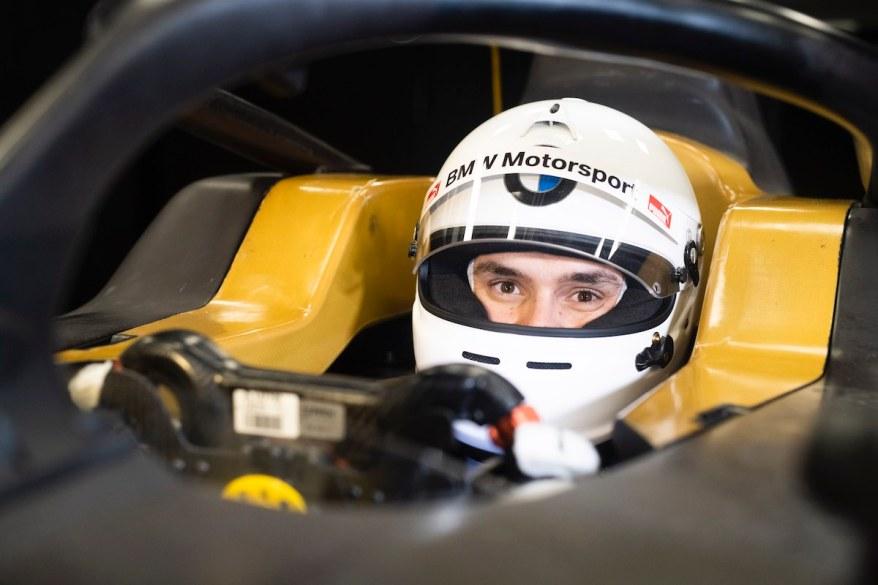 Lucas Auer BMW FE©BMW,Martin Hangen/hangenfoto